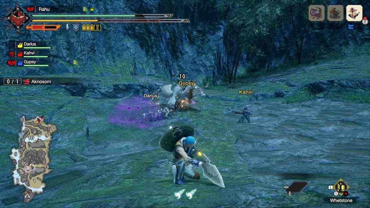 Procédure pas à pas de Monster Hunter Rise