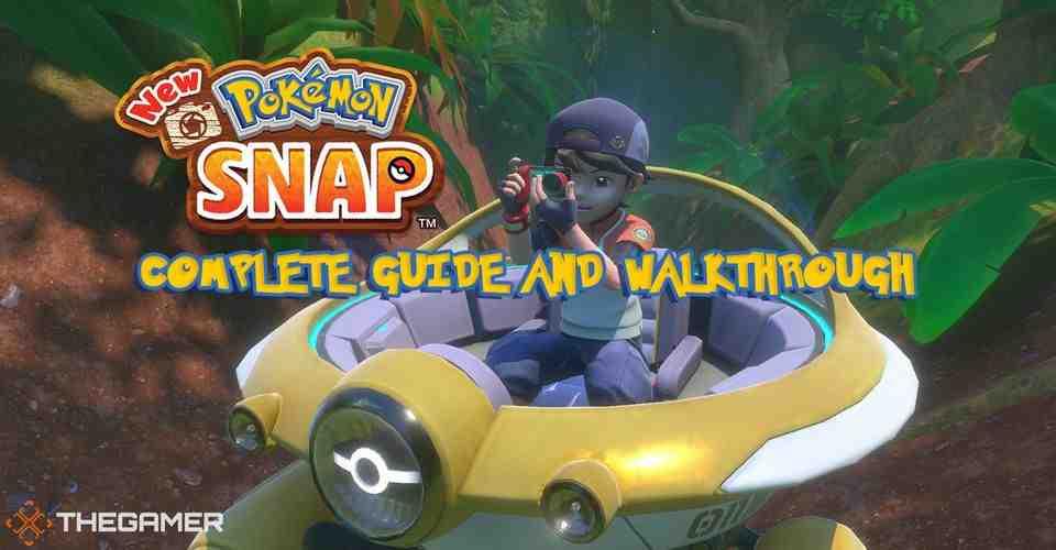 Démarrer un nouveau Pokemon Snap (Tutoriels)